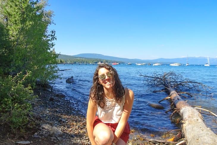 Stop at Lake Tahoe