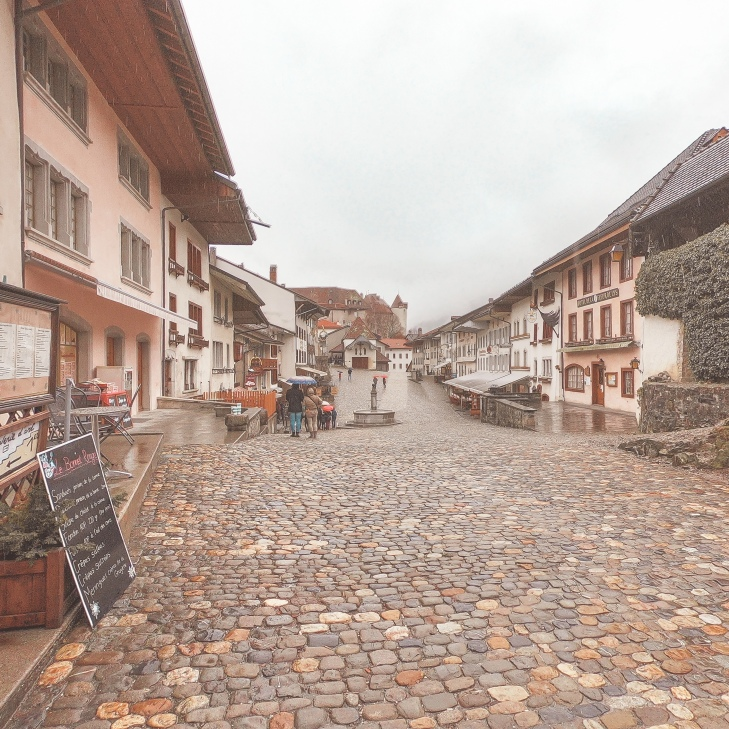 Gruyères town