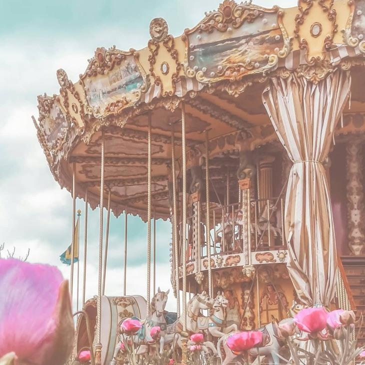 Carousel in Vevey