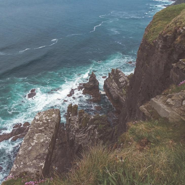 Cliff walk - Cliffs of Moher
